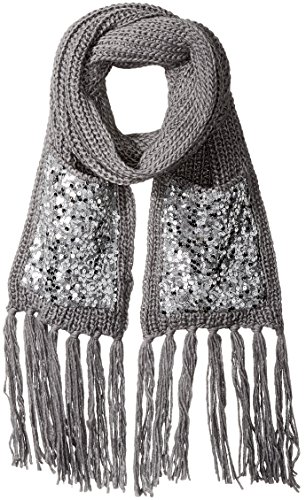 Betsey Johnson Women's Sequins Shine Muffler