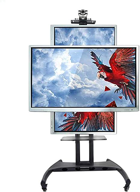 HANG Horizontal y Vertical de la Pantalla conmutable balanceo Soporte de TV TV móvil de Compras para 32-60 Pulgadas LED LCD Plasma TV de Pantalla Plana: Amazon.es: Hogar