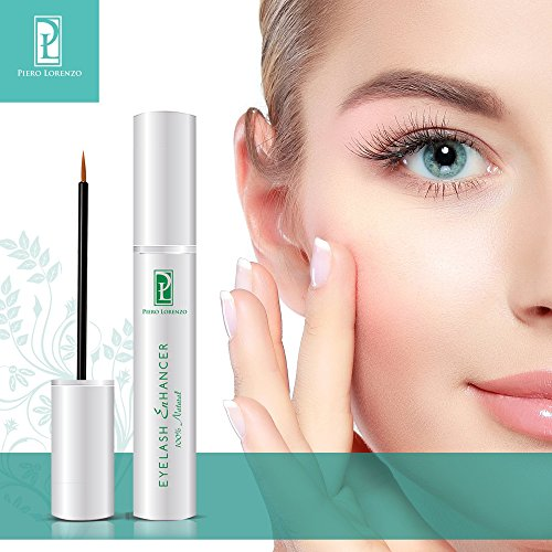 100% Natural Extract Eyelash Growth Serum Eyelash Enhancer for Longer, Thicker, Fuller Eyelash
