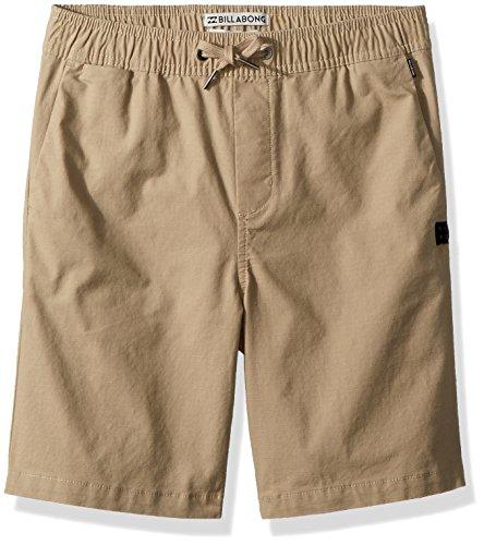 Billabong Boys' Larry Layback Shorts Light Khaki 5M