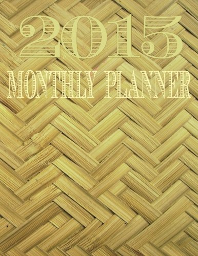 2015 Monthly Planner  Vintage Cover Day Planners  Organizers    Calendars   Volume 2