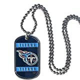 NFL Tennessee Titans Dog Tag Necklace, Tennesee Titans