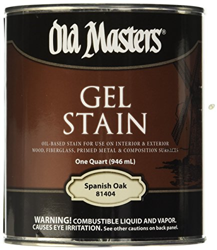 Old Masters Int/Ext Gel Stain Spanish Oak Quart