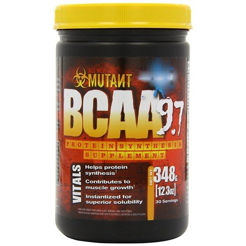 (4 PACK) - Pvl - Mutant BCAA 9.7 Green Apple | 348g | 4 PACK BUNDLE