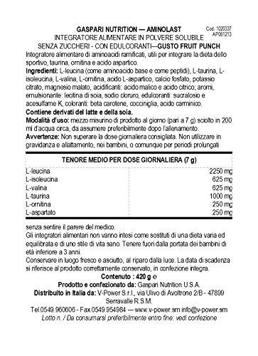 Gaspari Nutrition Amino Last Fruit Punch, 30 Count by Gaspari Nutrition (Image #1)