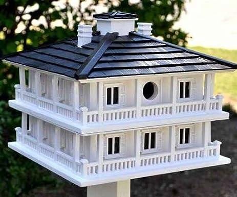 Amazon.com : Home Bazaar Hand-made Clubhouse Bird House - Big Bird ...