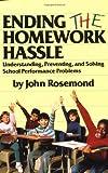 Ending the Homework Hassle, John K. Rosemond, 0836228073