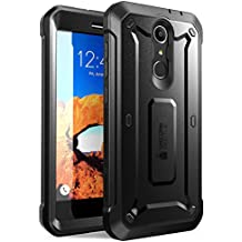 ZTE Blade Spark Case, SUPCASE Unicorn Beetle PRO Serie Full-body Rugged Holster Case with Built-in Screen Protector for ZTE Blade Spark ZTE Grand X 4 and ZTE X 4 2017 Release (Black/Black)