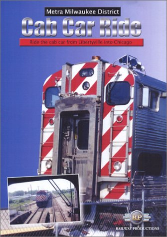 Amazon com: American Trains-Metra Milwaukee District Cab Car Ride