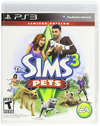 The Sims 3 Pets LIMITED EDITION - PS3 (UK IMPORT) (Ps3 Sims)