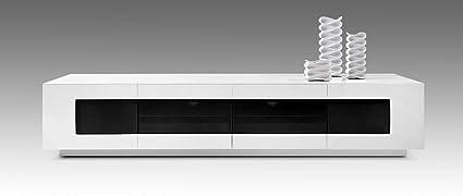 Modrest Frost Modern White TV Unit Glossy