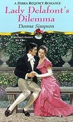 Lady Delafont's Dilemma (Zebra Regency Romance)