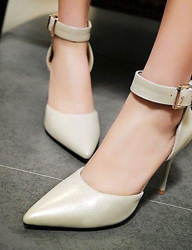 ShangYi Women's Shoes Patent Leather / Glitter Kitten Heel Heels Heels Office  Career / Dress / Casual Black...