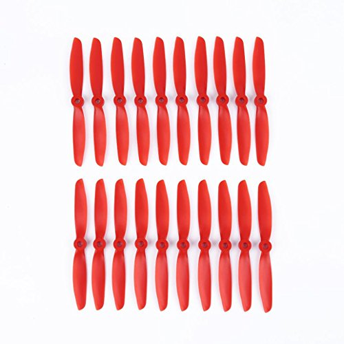 WensLTD 10 Pairs 5040 CW CCW Propellers Props For RC Quadcopter Multi-Copter (Red)
