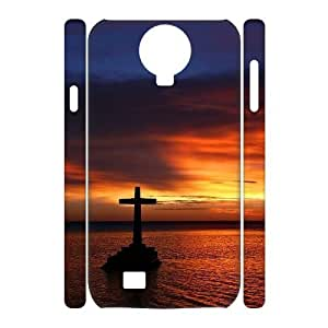 LZHCASE Diy Case Cross Cover For Samsung Galaxy S4 i9500 [Pattern-1]