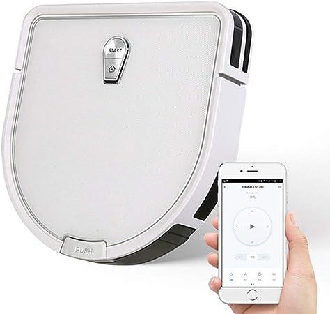 FENGMM Aspirador Smart Gyro Robot, Aspirador Conectado WI-Fi - Gran Capacidad 2600Mah - App Smart Control, para La Familia De Peluquería De Mascotas con Trapeador: Amazon.es: Hogar
