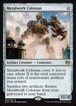 Magic: the Gathering - Metalwork Colossus (222/264) - Kaladesh