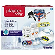 Playtex Baby Ventaire Superhero Baby Bottle Gift Set for Boys
