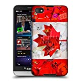 Official ArtPopTart Canada Flags Hard Back Case for BlackBerry Q5