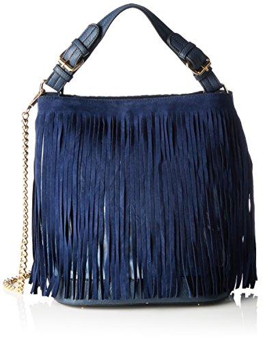Boscha Borsa con Maniglia Donna Blu (Midnight Blue)