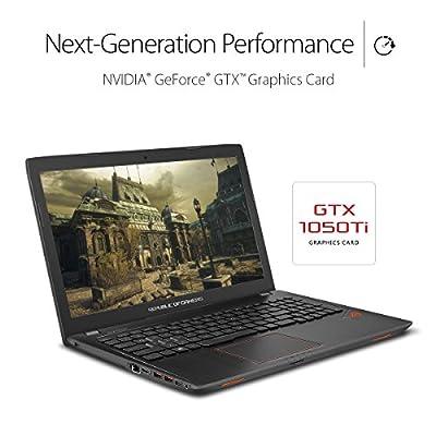 "ASUS ROG Strix GL553VD 15.6"" Gaming Laptop GTX 1050 4GB Intel Core i7-7700HQ 16GB DDR4 1TB 7200RPM HDD RGB Keyboard"