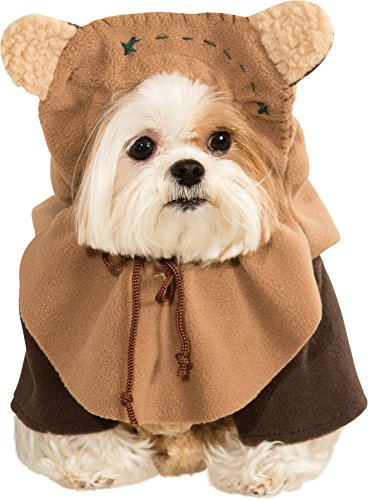 UHC Star Wars Ewok Outfit Funny Theme Fancy Dress Halloween Pet Dog Costume, XL
