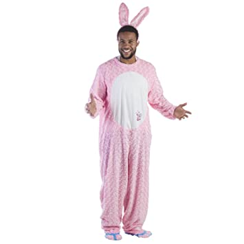 41d3072f7 Dress Up America Adult Energizer Easter Bunny Plush Mascot Costume ...