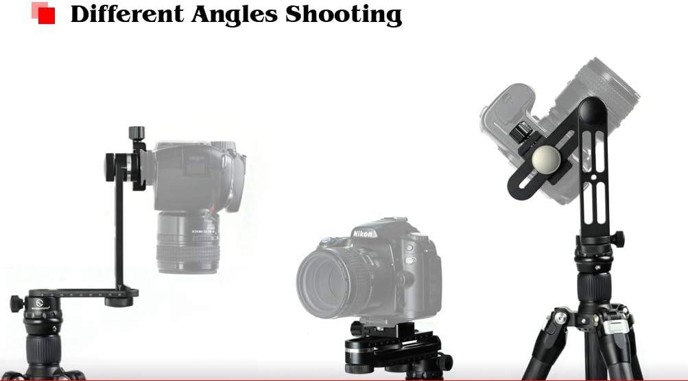 Panoramic Kit with Clamp 12 Click Stop Horizontal SunwayFoto CR-30C 360deg 24 Click Stop Vertical