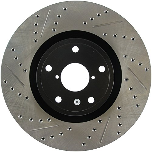 - StopTech 127.47022R Sport Drilled/Slotted Brake Rotor (Front Right), 1 Pack