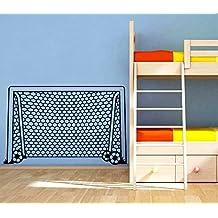 Wall Decals Goal Net Soccer Football Gate Sport Keeper Net Kids Boys Room Nursery Wall Vinyl Decal Stickers Bedroom Murals