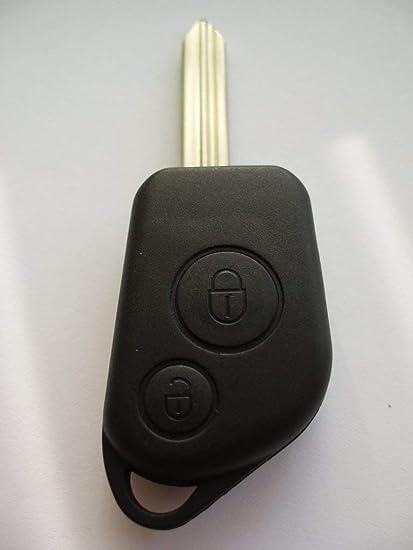 Llave de botón de recambio 2 caso para Citroen Berlingo Saxo ...
