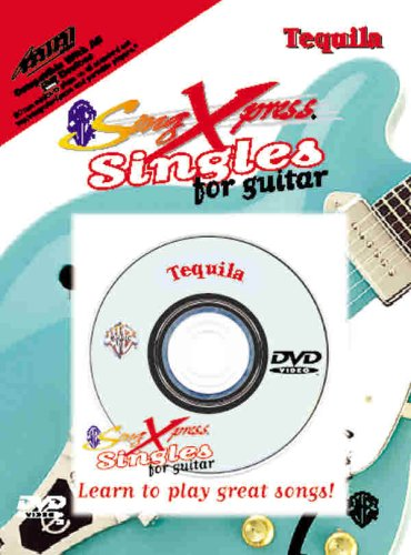 SongXpress Singles for Guitar -- Tequila (miniDVD)