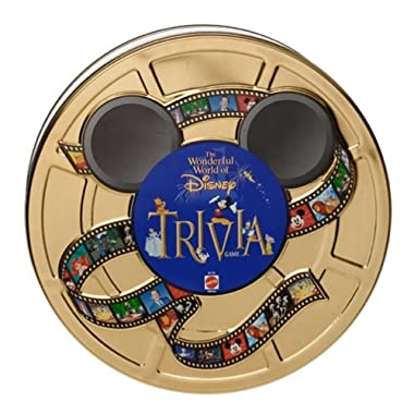 Wonderful World of Disney Trivia Game in Collectible Tin