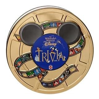 5Star-TD Wonderful World of Disney Trivia Game in Collectible Tin