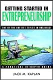 Getting Started in Entrepreneurship, Jack M. Kaplan, 047129456X
