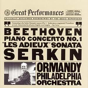Beethoven: Piano Concerto No. 1 / Piano Sonata No. 26 - Les Adieux, Opp. 15, 81a
