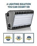 Hyperikon LED 150W Wall Pack Fixture, 1050W HPS/HID