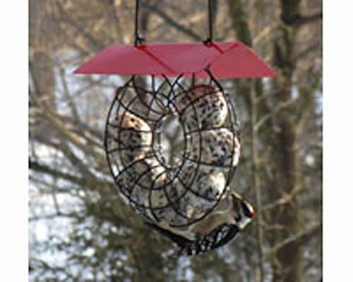 Songbird Essentials Suet & Seed Ball Feeder Red Roof SE908