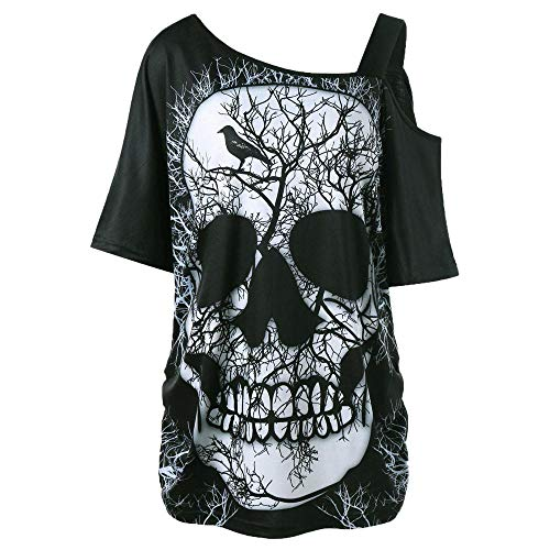 M Damen Bluse Koucla-Top mit Schösschen Top Shirt Hemd S