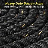 KINGSO Battle Rope 1.5 Inch Heavy Battle Exercise