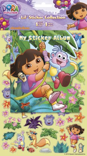 Dora the Explorer Lil' Sticker Collection