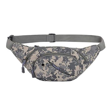 b7e068c0f944 Amazon.com : XDH-RTS Fanny Pack Waist Bag Men Camouflage ...