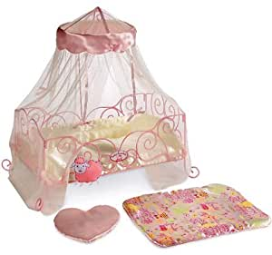 Amazon Com Baby Annabell Metal Interactive Doll Bed