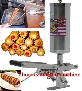 5L español Churros relleno máquina comercial profesional churro Filler herramienta cocina cocina repostería CE