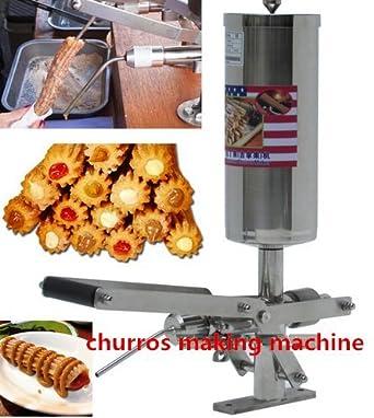 5L español Churros relleno máquina comercial profesional churro Filler herramienta cocina cocina repostería CE: Amazon.es: Industria, empresas y ciencia