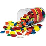 Learning Resources Wooden Pattern Blocks (Set of 250)