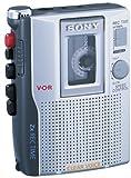 Sony TCM-220DV Standard Cassette Voice Recorder, Silver: more info