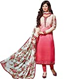 Designer-Italian-Crepe-Embroidery-Readymade-Salwar-Kameez-Indian