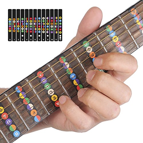 guitar-fretboard-stickersloftstyle-color-coded-note-for-guitar-learning-100-vinyl-guitar-decals-to-h
