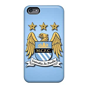 Great Hard Phone covers cases For Apple Iphone 6s (DfM5153EsSy) Unique Design Trendy Manchester City Fc Pictures